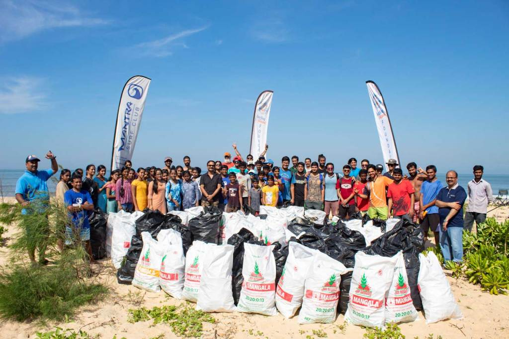 Surfing Swami Foundation - Mantra Beach Clean Up - 2018