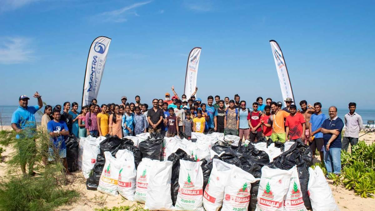 Surfing Swami Foundation - Mantra Beach Clean Up - 2018