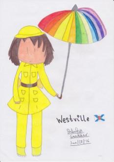 westvillecarryingrainbowumbrella