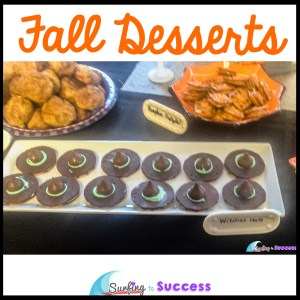 Fall Desserts? When you think of holiday desserts, your mind may head to Christmas, but don't be fooled. There are so many delicious possibilities for Fall Desserts. Whether these are used for a Halloween party, or Thanksgiving, you will love them.