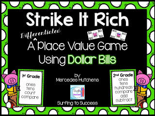 Strike It Rich: A Differentiated Place Value Game