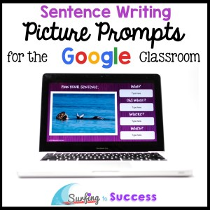 Sentence Writing Picture Prompts