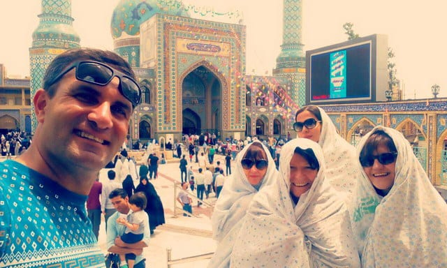 French tourists In Iran - SURFIRAN