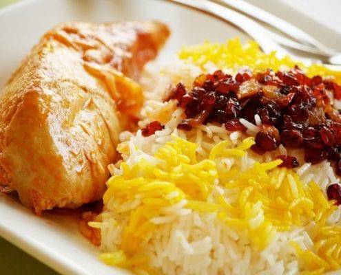 Persian Zereshk Polo