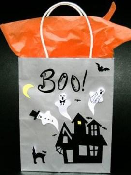 Booo Halloween bag