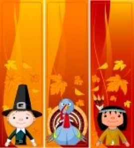 8077425-three-cute-thanksgiving-and-autumn-vertical-banners