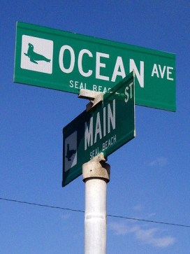 seal beach street signs