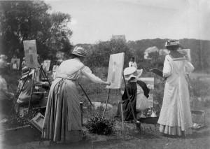 plein-air women artists