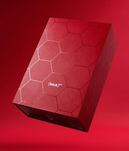 balr. ボーラー 六角形 ブランドイメージ 外箱