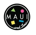 mauiandsons マウイアンドサンズ ブランドロゴ サーフ