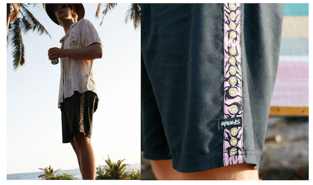 afends norm core boardshorts