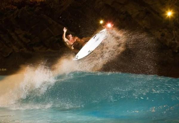 Boosting at the Miyazaki Ocean Dome Wave Pool   Wave Park   Surf Pool