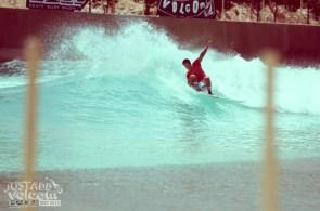 Frontside Hack Red | Volcom Surf & Skate Jam 2013 | Wadi Adventure Wave Pool