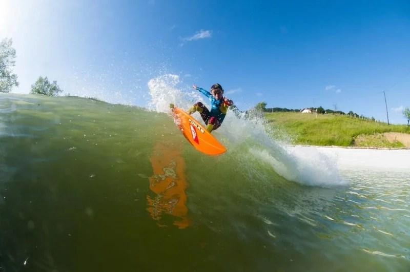 Kai Odriozola Surfing Wavegarden | NLand Surf Park | Surf Park Central