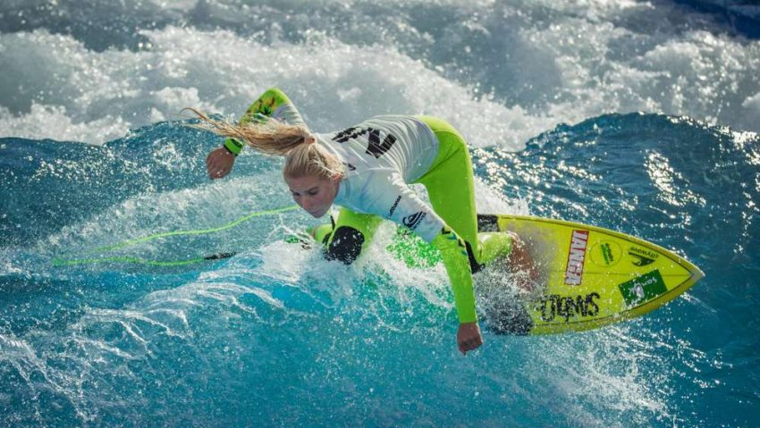 Janina Zeitler 2016 Surf and Style Championships Surf Park Central