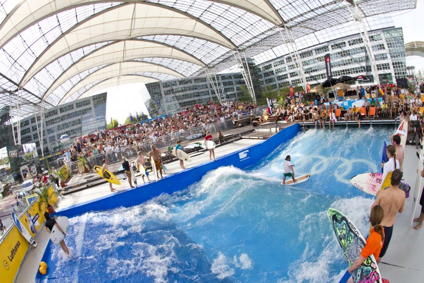 Surf and Style Munich   Citywave   Surf Park Central