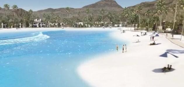Thermal Beach Club Surf Park in Palm Desert, California