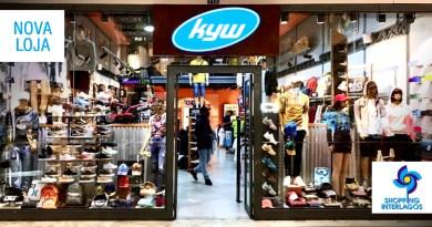 Lojas KYW em dobro no Shopping Interlagos
