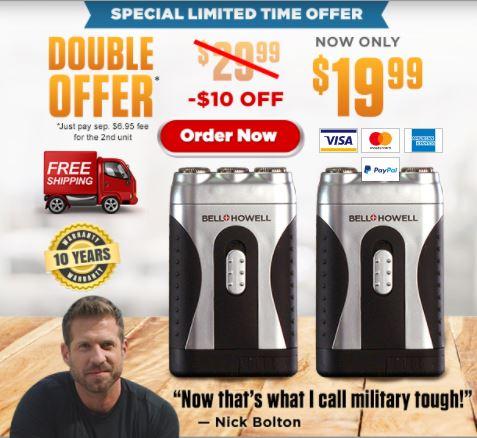 TacShaver TV Offer