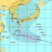 越境台風12号ハロラ