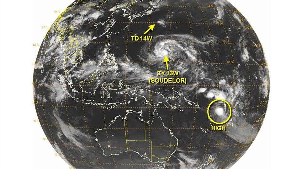 台風14号Molave モラヴェ