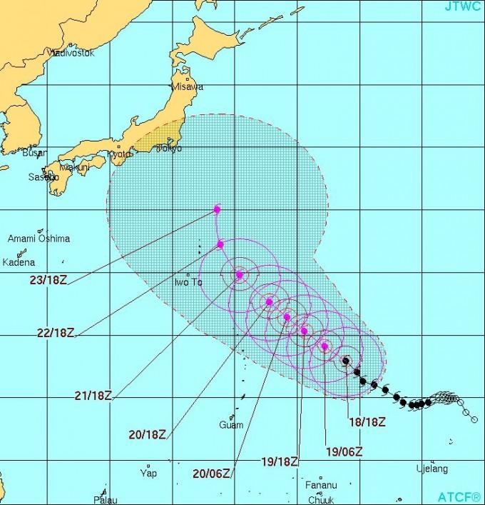 台風16号アッサニー