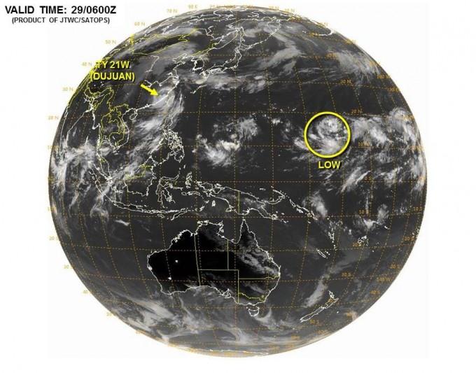 台風22号ムジゲ発生か