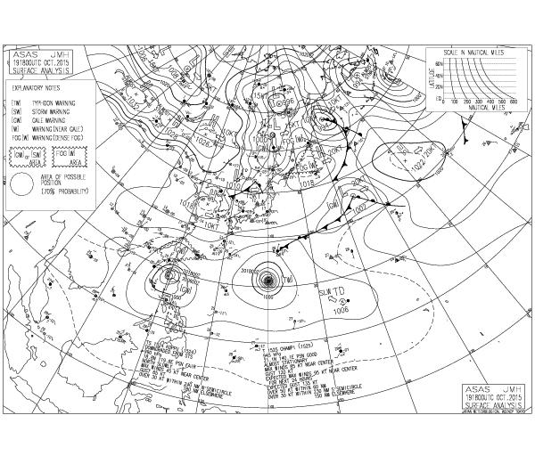 台風26号インファ