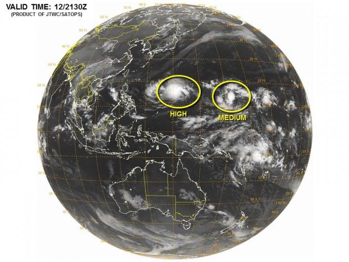 台風24号コップ