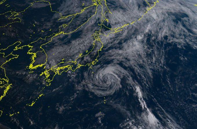 台風7号chanthu