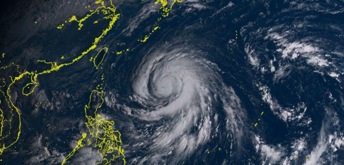 台風17号メーギー進路