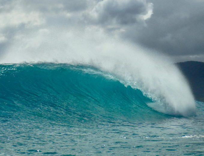 台風22号奄美大島サーフトリップ