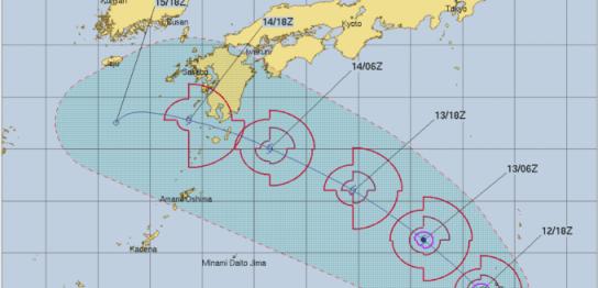 台風15号リーピ