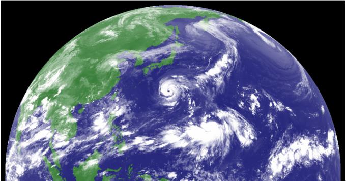 台風19号「ソーリック」台風20号「シマロン」