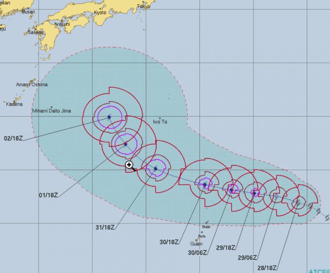 台風チェービー