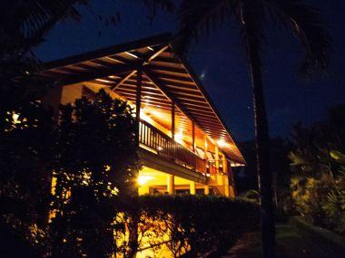 selea house front night