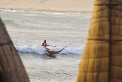 Traditional Wave Riding in Peru