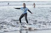 pierwsze zajęcia surfingowe