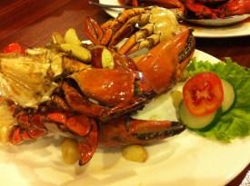 Kepiting Goreng Bawang Putih