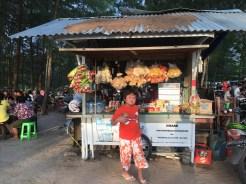 Jajan sore di Tanjung Pendam