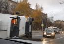 ДТП с участием двух грузовиков