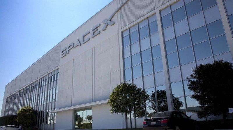 штабквартира SpaceX