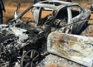 Mpumalanga police have started a manhunt for suspects involved in the cruel murder of a 52-year-old Mpumalanga man who was kidnapped and burnt alive in his locked car.