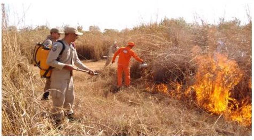Monitoramento contra focos de incêndios na Serra do Lajeado conta com apoio do governo federal