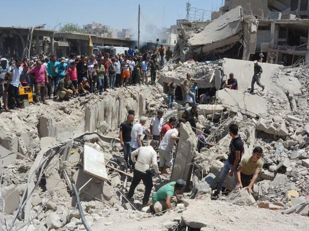 A Síria nossa de cada mês