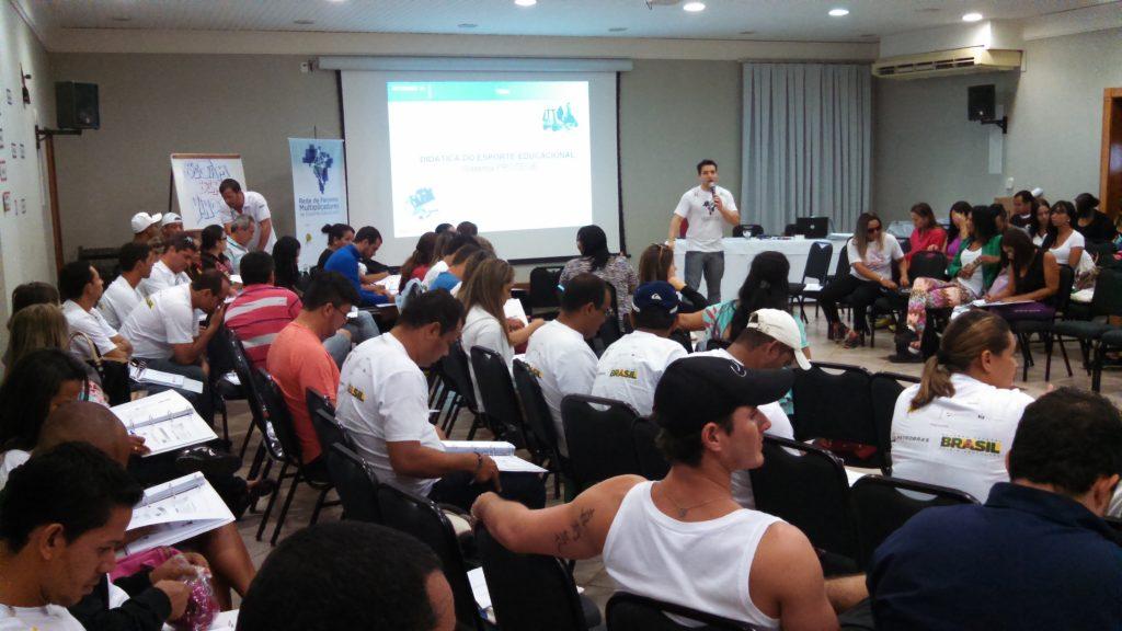 IEE e Petrobras realizam primeira formação do ano para professores do Mato Grosso do Sul