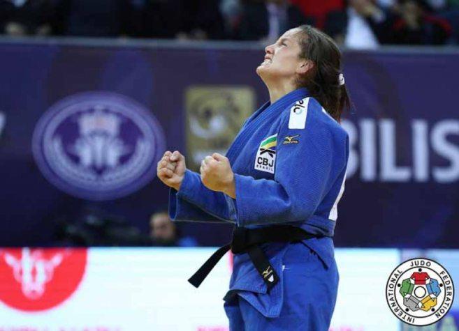 Brasil conquista dois ouro no segundo dia do Grand Prix de Tbilisi no Judô
