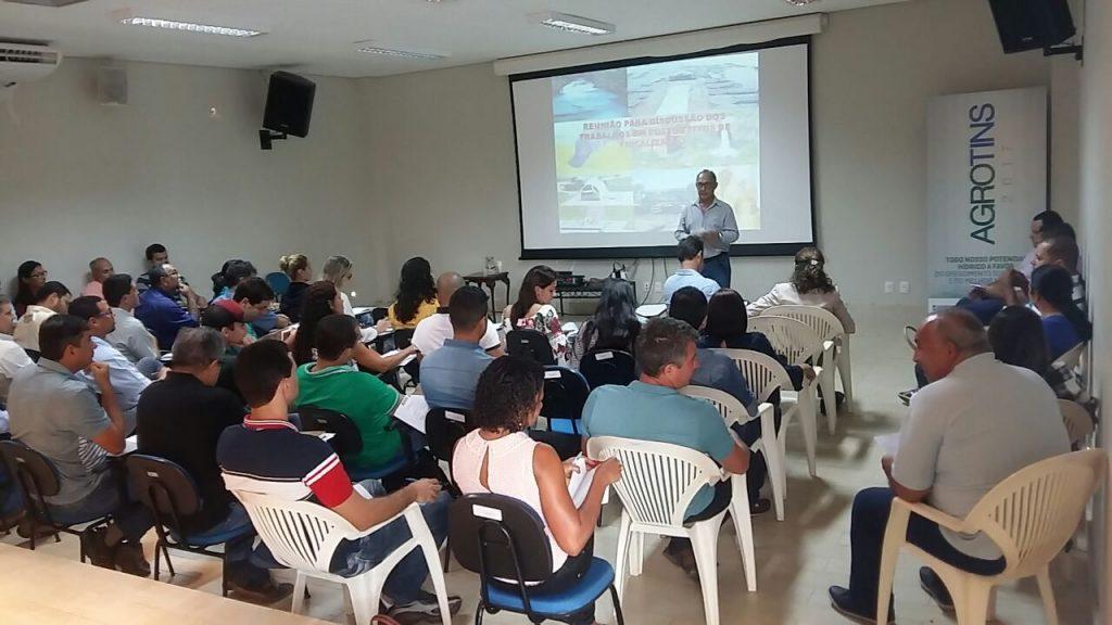 Padronização das barreiras fixas zoofitossanitárias é discutida em Palmas