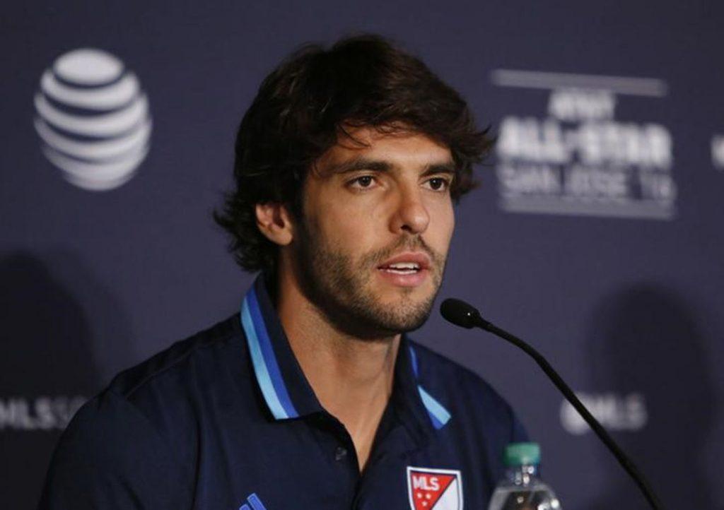 Kaká é o jogador mais bem pago na liga dos EUA pelo 3º ano