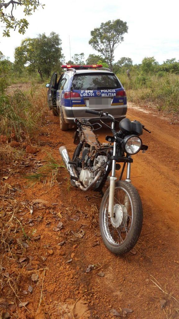 Em Araguaína PM recupera duas motos roubadas